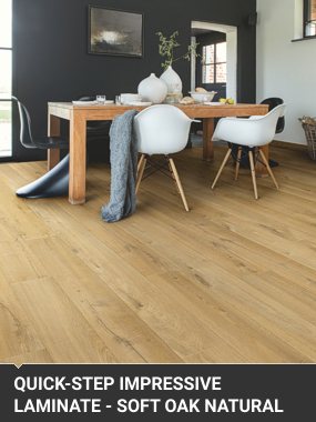 Installation of QuickStep Impressive Laminate Flooring