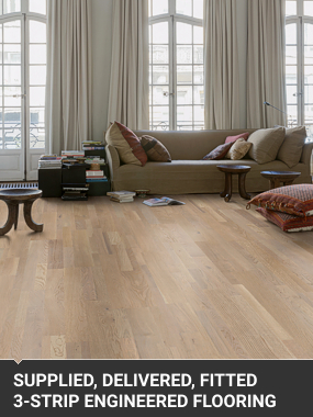 Supply And Fit 3 Strip Engineered FlooringNear London