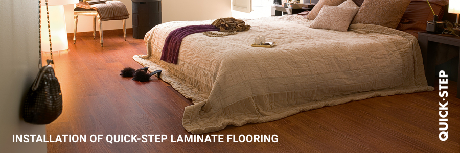 Installation Quickstep Laminate Flooring Near London