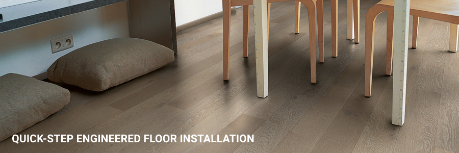 Quickstep Engineered Flooring Installation Tower Hill