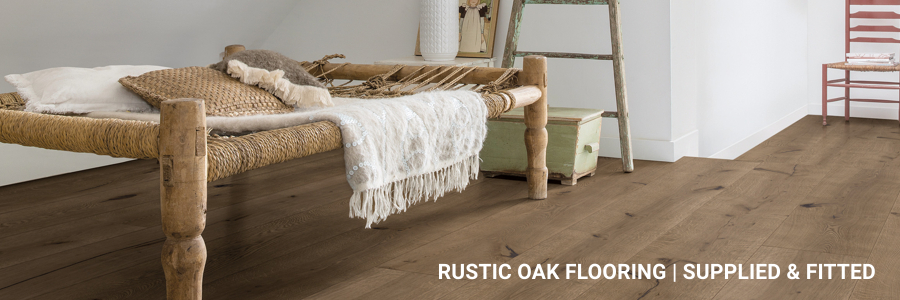 Rustic Oak Flooring Near London