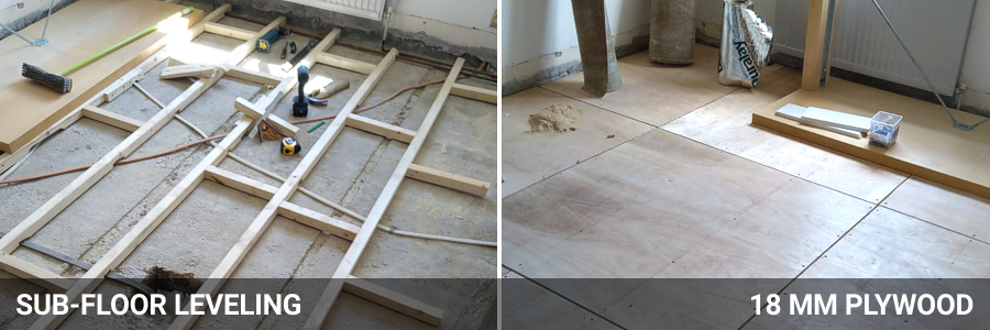 Subfloor Preparation 1 West London