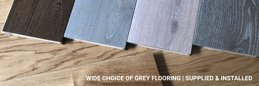 Supply And Fit Grey Wooden Flooring Clerkenwell