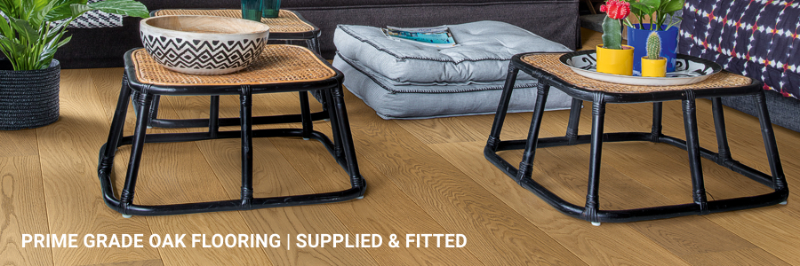 Supply And Fit Prime Grade Oak Flooring Tower Hill