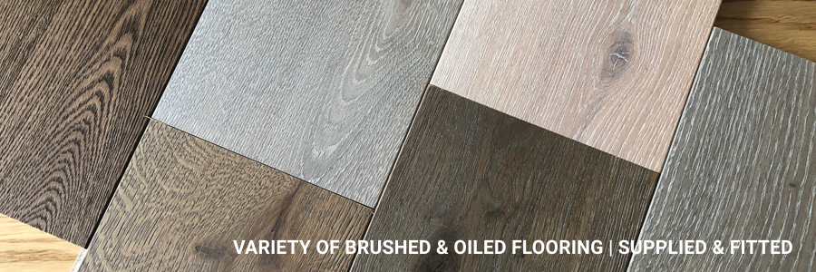 Supply And Fit Variety Of Brushed Oiled Flooring Southwest London